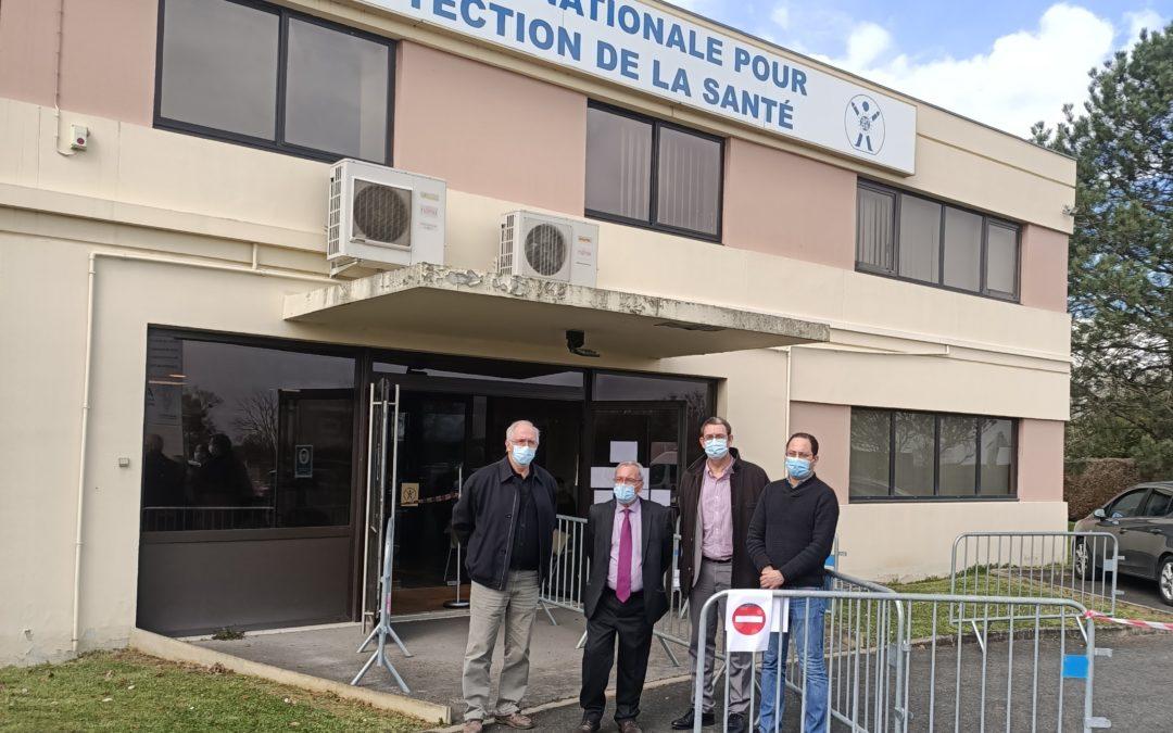 Ouverture du centre de vaccination anti-covid-19